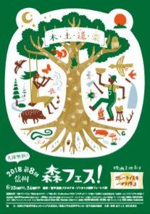 第8回信州森フェス!に菅平高原実験所が協力機関として参画