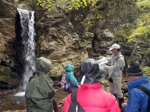 10月20日 秋の自然観察会で大明神滝へ!